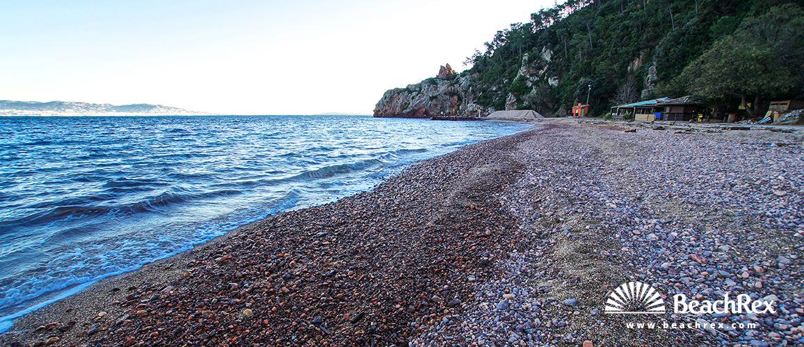 France - AlpesMaritimes -  Théoule-sur-Mer - Beach de l'Aiguille