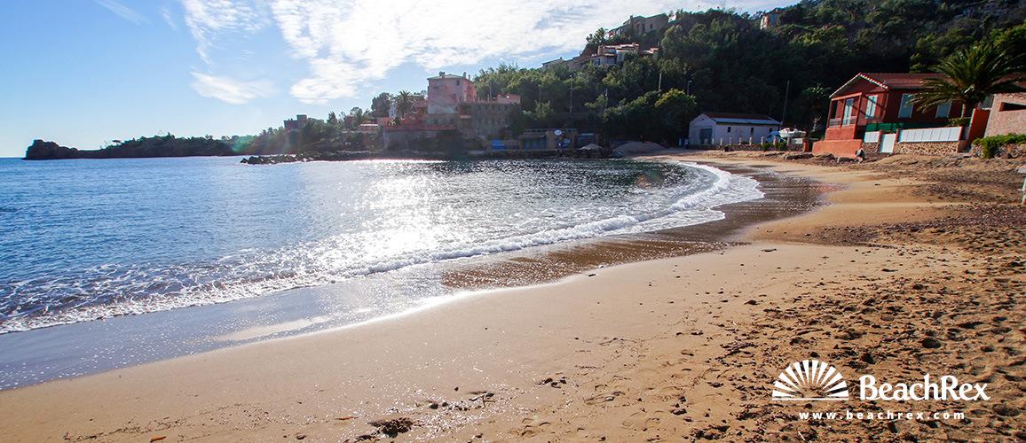 France - AlpesMaritimes -  Théoule-sur-Mer - Beach la Figuerette