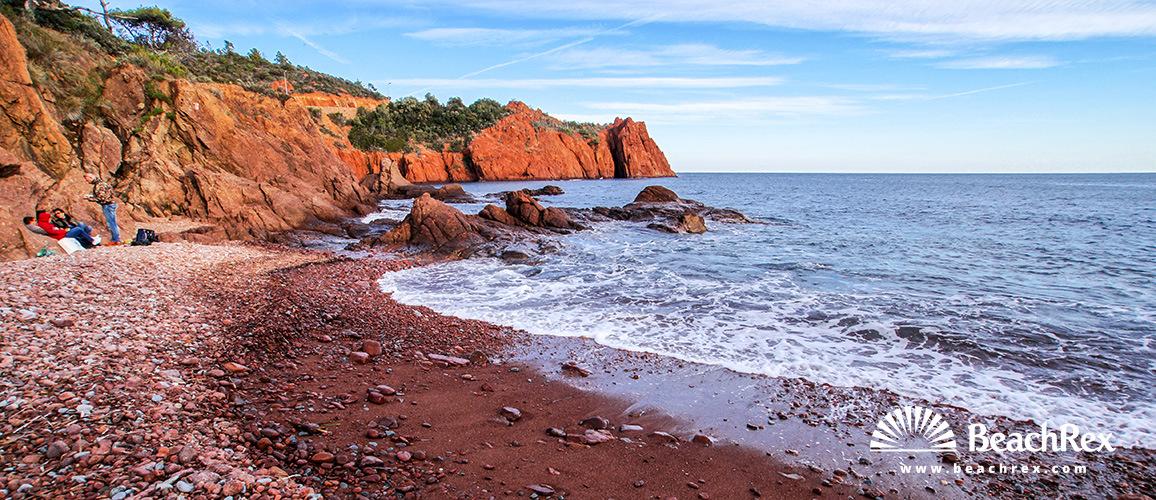 France - Var -  Saint-Raphaël - Beach de Maupas