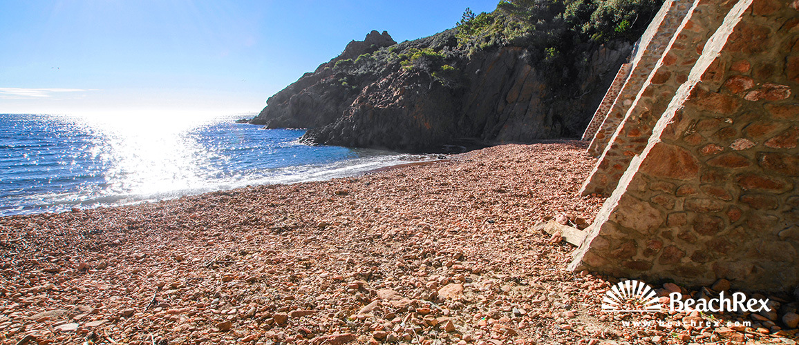 France - Var -  Saint-Raphaël - Beach de Saint Barthélemy