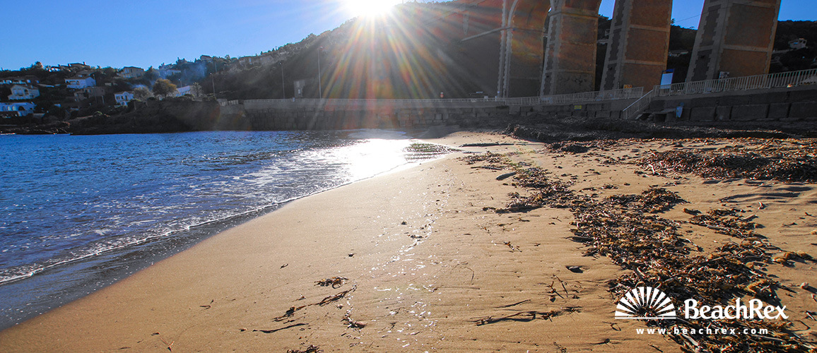 France - Var -  Saint-Raphaël - Beach d'Anthéor
