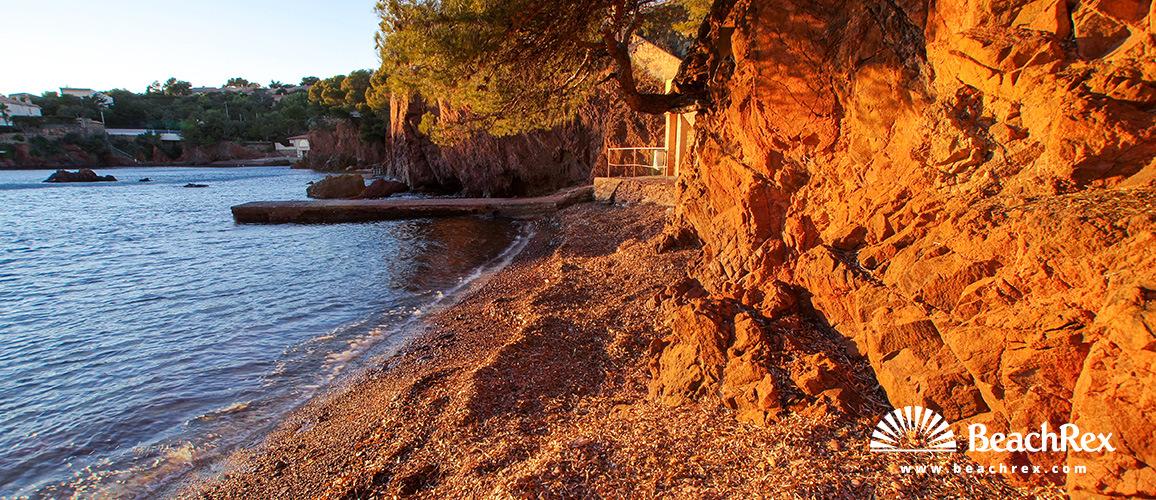 France - Var -  Saint-Raphaël - Beach des Anglais