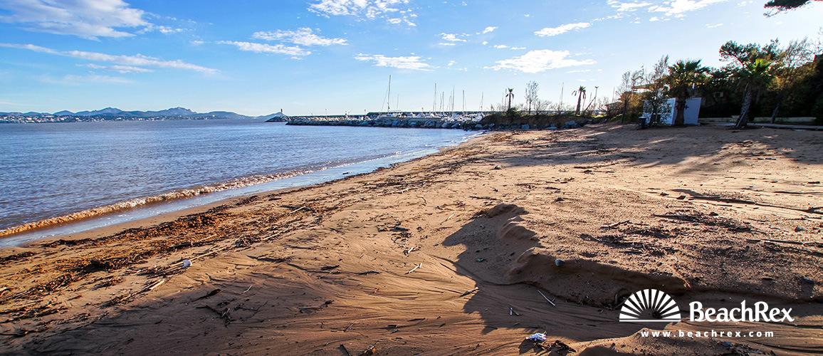 France - Var -  Fréjus - Beach de la Galiote