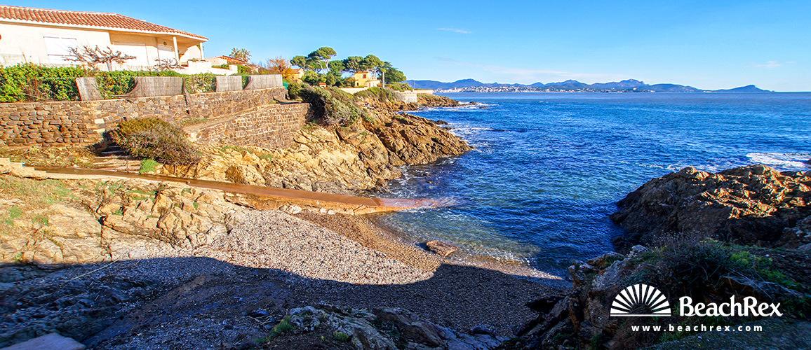 France - Var -  Fréjus - Beach Carolus Durand
