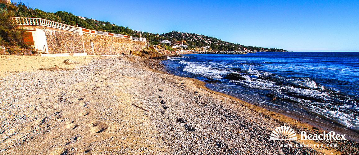 France - Var -  Roquebrune-sur-Argens - Beach de l'Arpillon