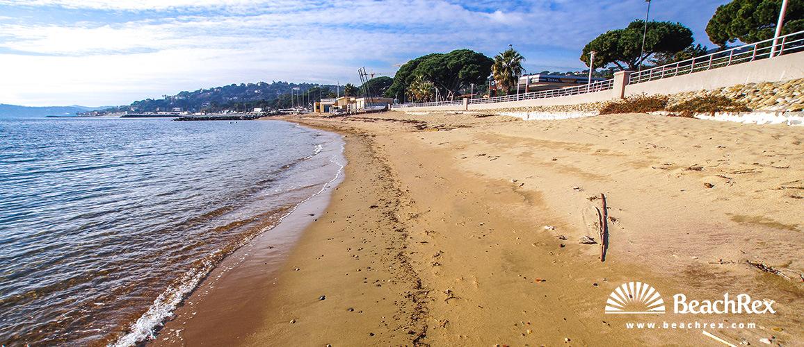 France - Var -  Sainte-Maxime - Beach Sian Proun