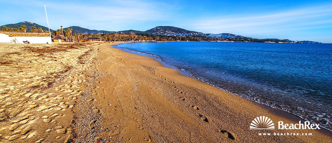 France - Var -  Grimaud - Beach du Port Grimaud