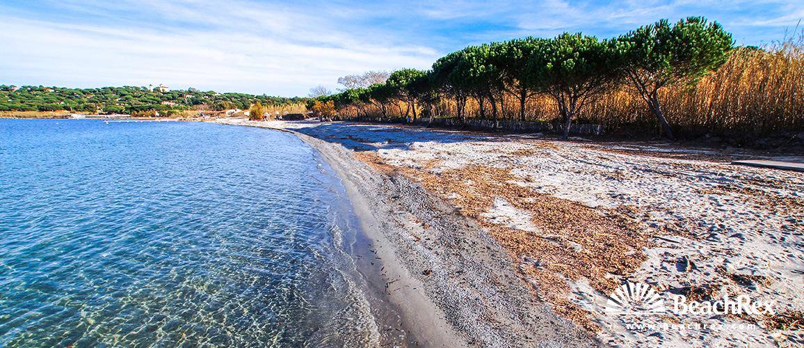 France - Var -  Saint-Tropez - Beach Canoubiers