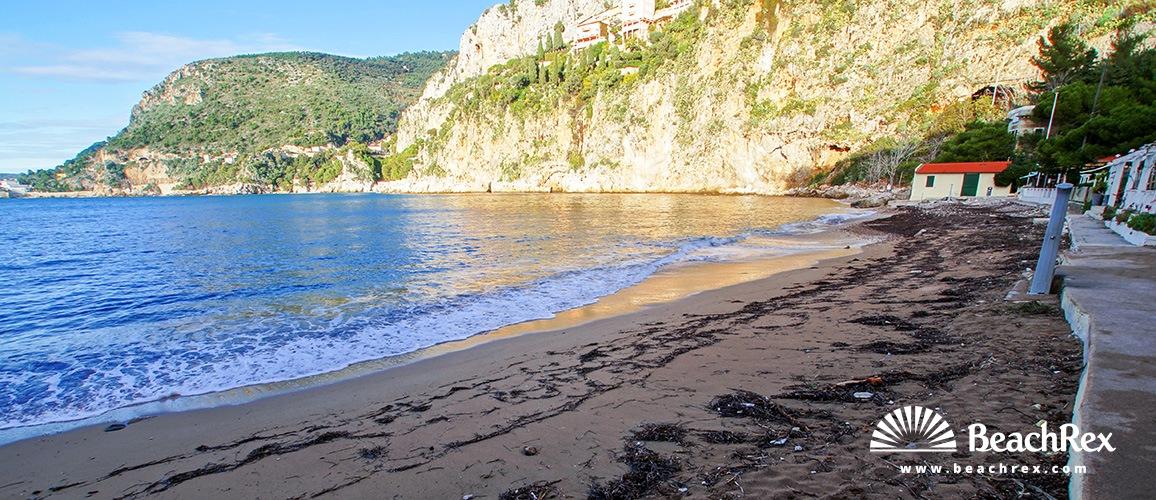 France - AlpesMaritimes -  Cap-d'Ail - Beach Mala