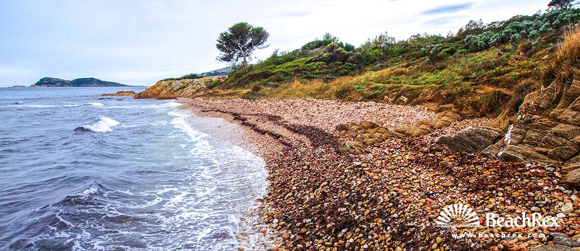 France - Var -  Ramatuelle - Beach de la Quessine