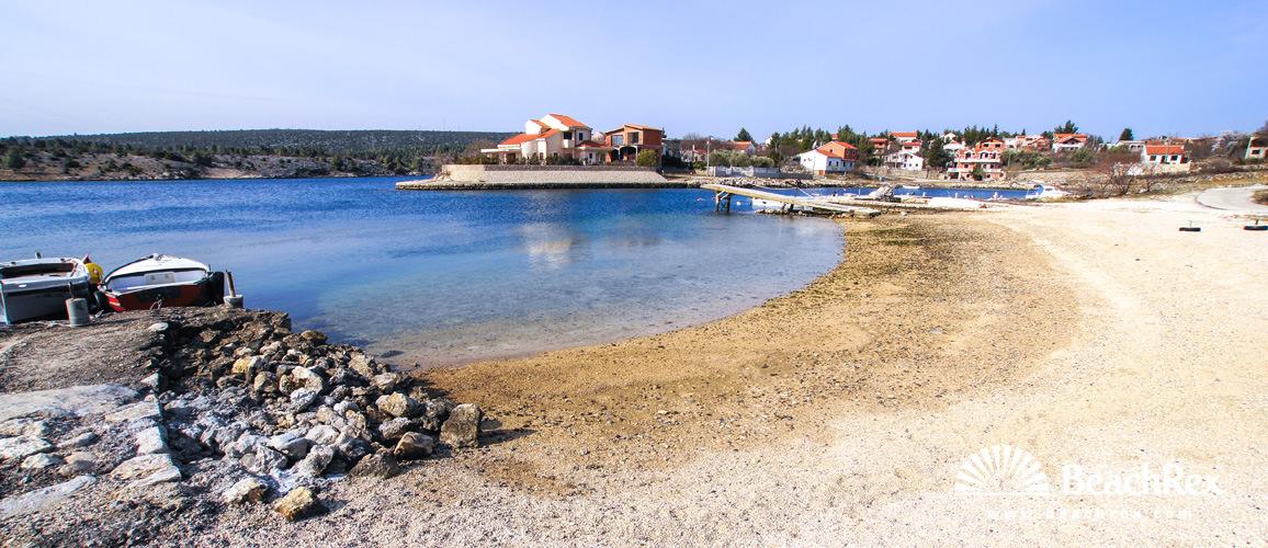 Croatia - Dalmatia  Zadar -  Ribnica - Beach Ribnica