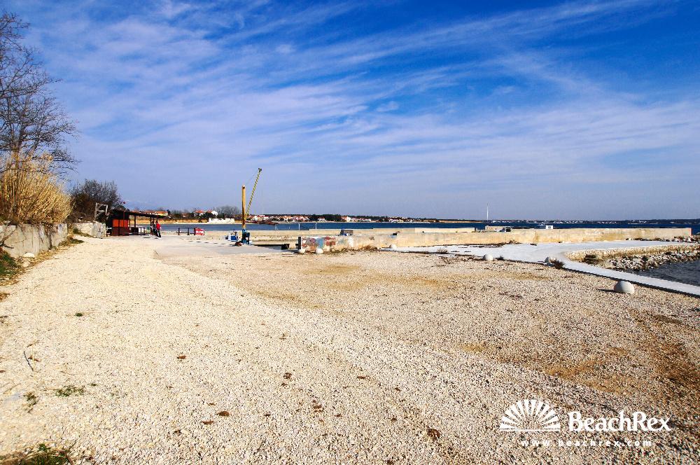 Croatia - Dalmatia  Zadar -  Privlaka - Beach Mletak