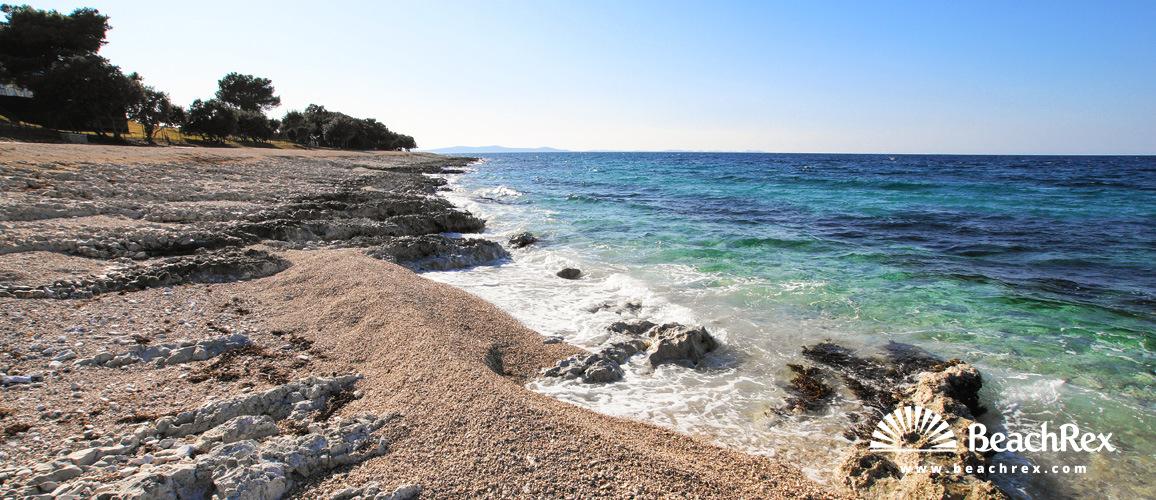 Croatia - Dalmatia  Zadar -  Petrčane - Beach Punta Skala