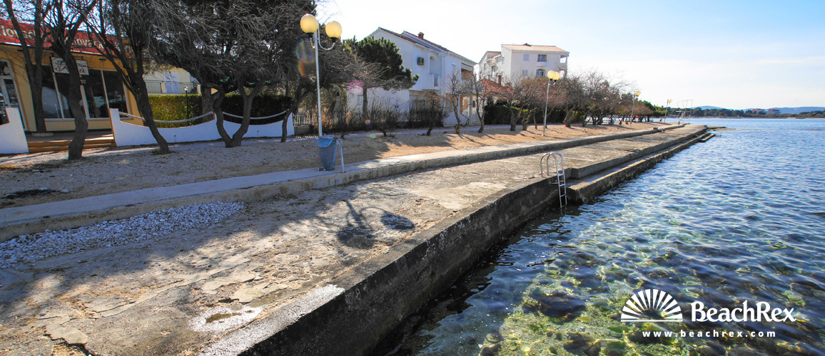 Croatia - Dalmatia  Zadar -  Zadar - Beach Mali Mlini
