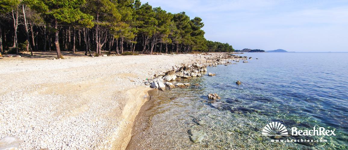 Croatia - Dalmatia  Zadar -  Pakoštane - Beach Pilatuša