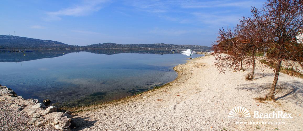 Croatia - Dalmatia  Šibenik -  Pirovac - Beach Uvala Vrilo