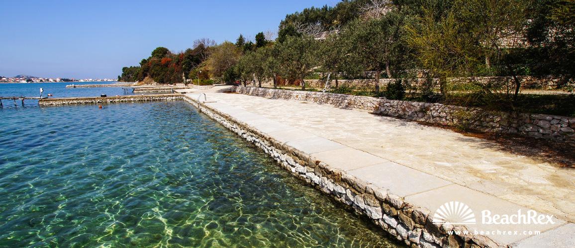 Croatia - Dalmatia  Šibenik -  Tisno - Beach Dalmacija
