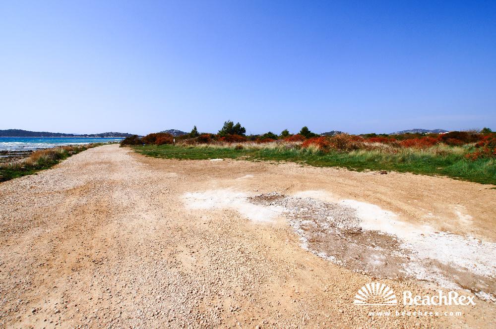 Croatia - Dalmatia  Šibenik -  Vodice - Plava beach