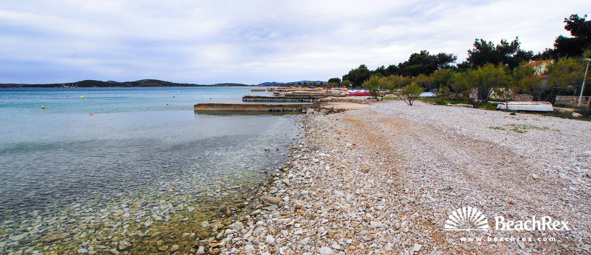 Croatia - Dalmatia  Šibenik -  Jadrija - Beach Olive