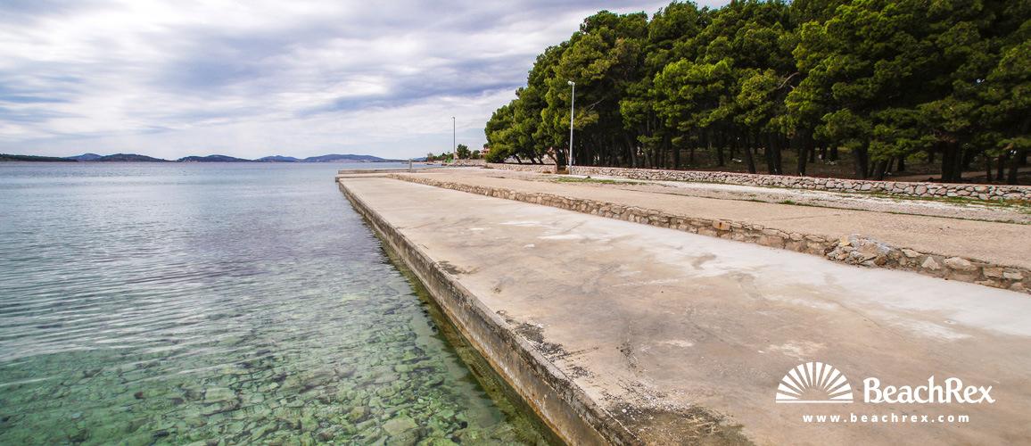 Croatia - Dalmatia  Šibenik -  Šibenik - Beach Solina