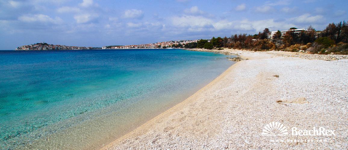 Croatia - Dalmatia  Šibenik -  Primošten - Beach June