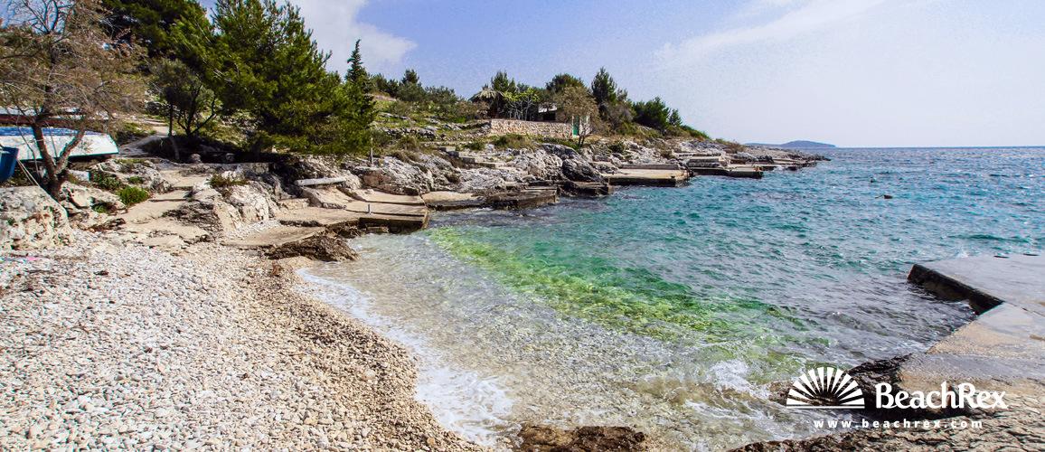 Croatia - Dalmatia  Šibenik -  Rogoznica - Beach Tičinovica
