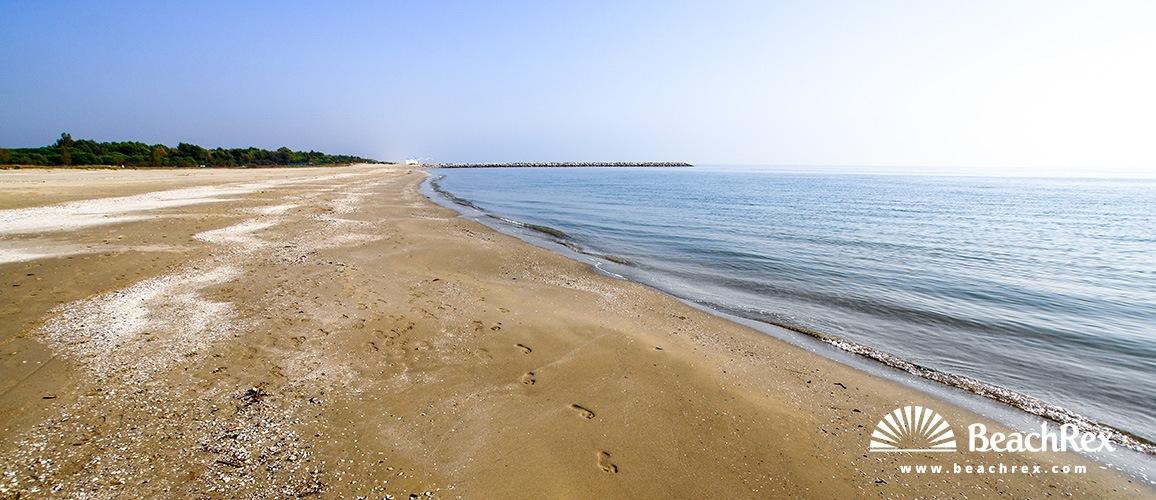 Italy - Veneto -  Ca' Savio - Beach Ca' Savio