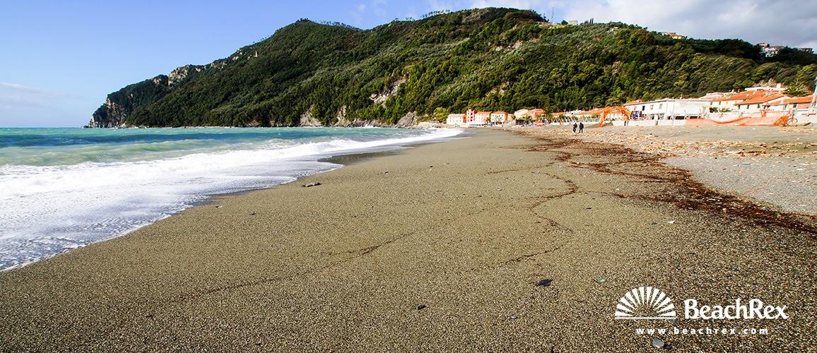 Italy - Liguria -  Sestri Levante - Beach Riva Trigoso