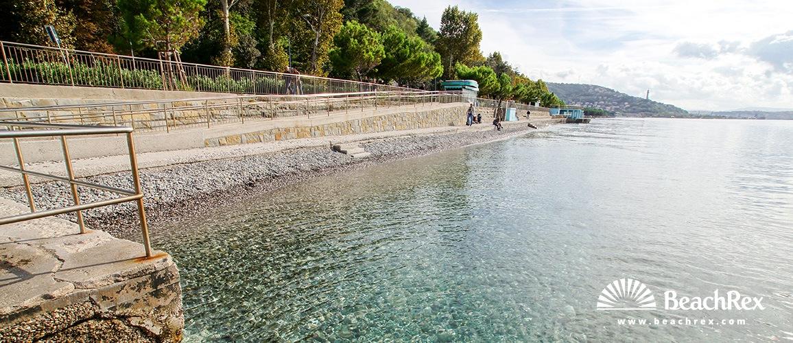 Italy - FriuliVenezia Giulia -  Trieste - Beach Topolini