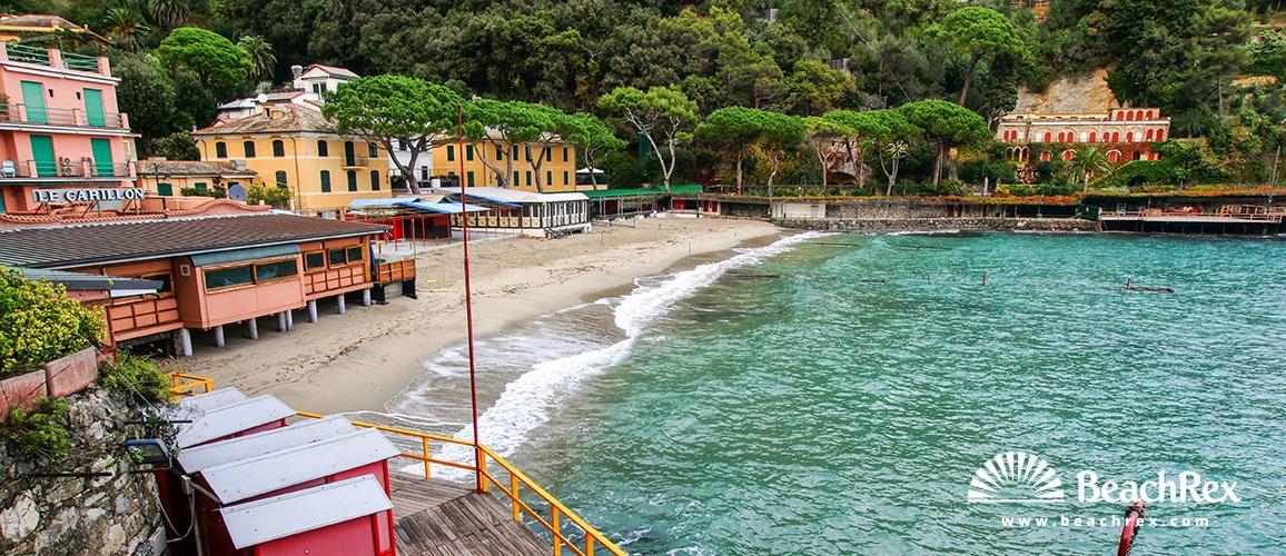 Italy - Liguria -  Paraggi - Beach Paraggi