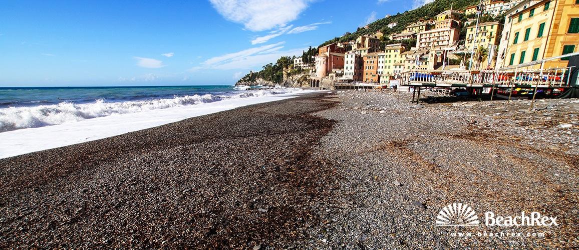 Italy - Liguria -  Sori - Beach Sori