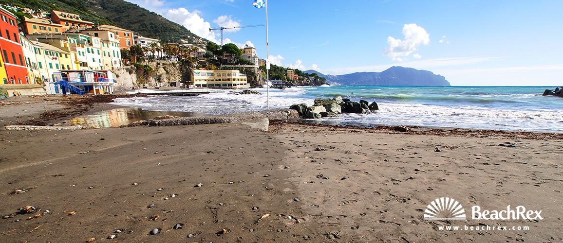 Italy - Liguria -  Genova - Beach Bogliasco