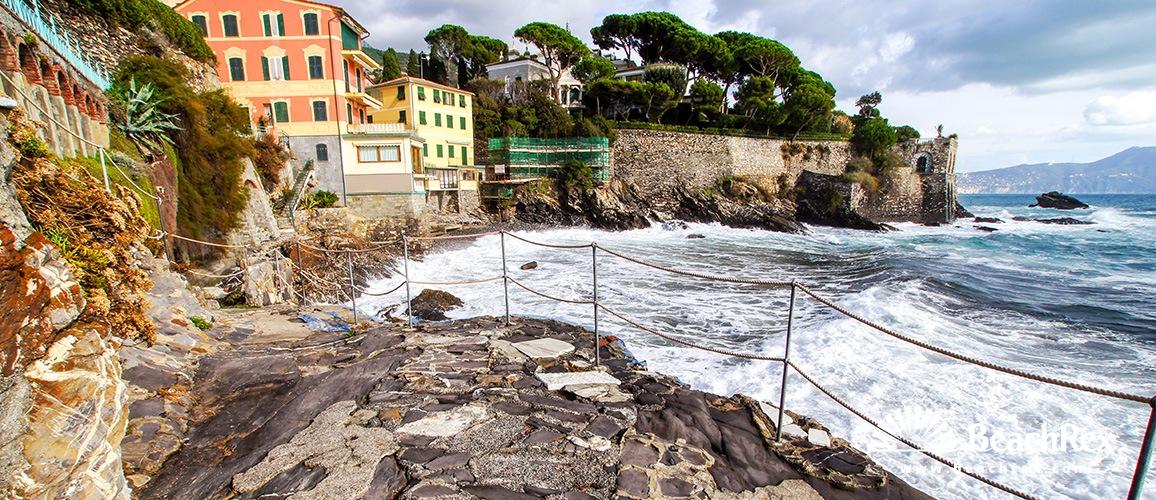 Italy - Liguria -  Genova - Beach Capolungo