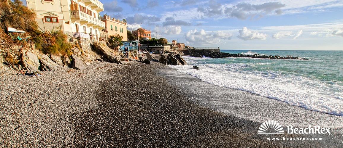 Italy - Liguria -  Genova - Beach Quinto