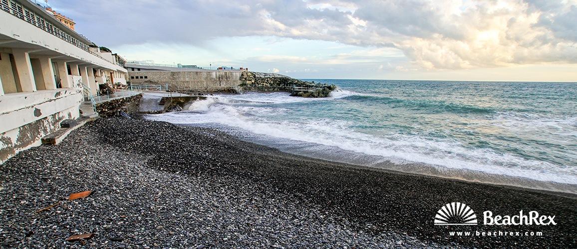 Italy - Liguria -  Genova - Beach Nasi