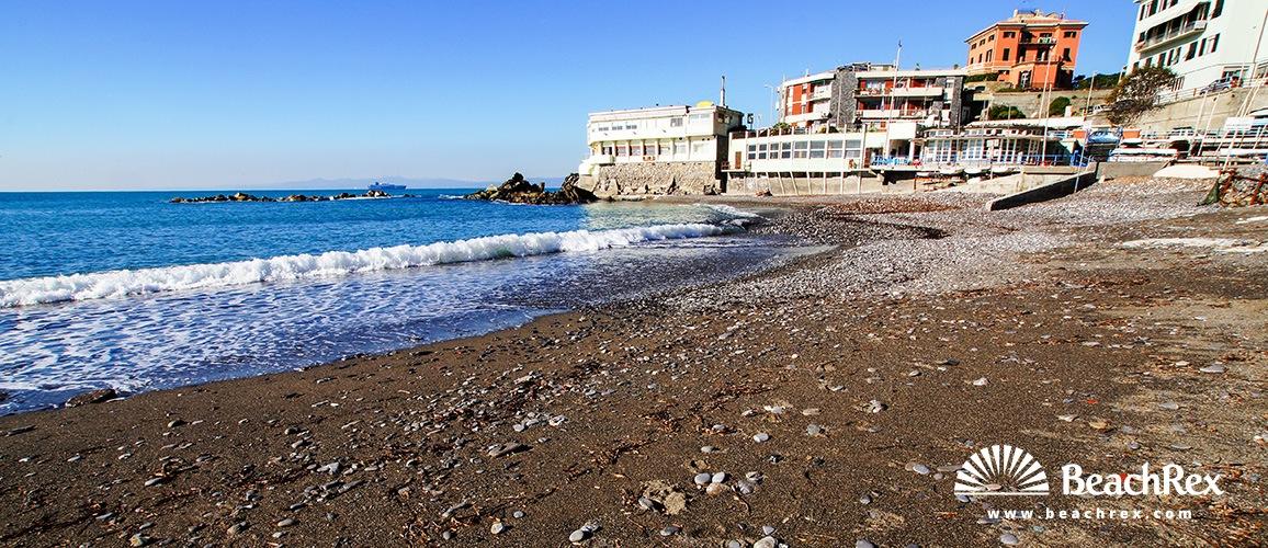 Italy - Liguria -  Genova - Beach Priaruggia