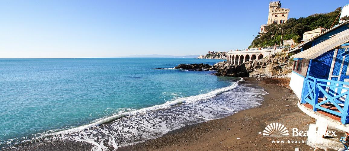 Italy - Liguria -  Genova - Beach Scoglio dei Mille