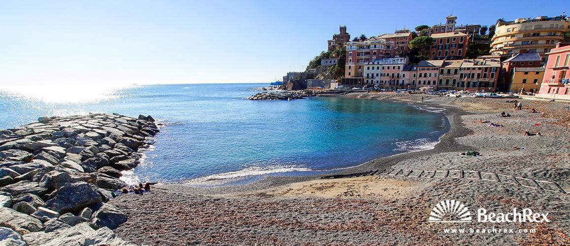 Italy - Liguria -  Genova - Beach Vernazzola