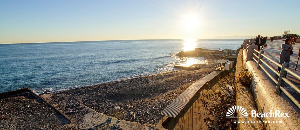 Italy - Liguria -  Genova - Beach San Nazaro