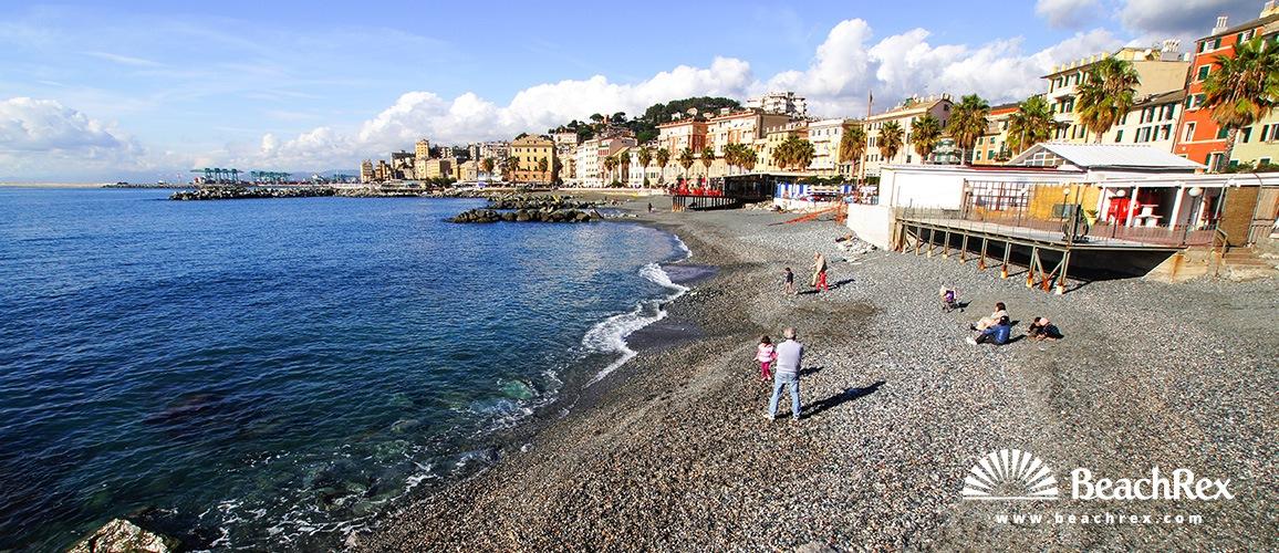 Italy - Liguria -  Genova - Beach Pegli