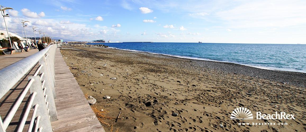 Italy - Liguria -  Genova - Beach Voltri