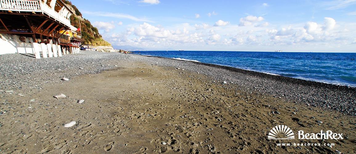 Italy - Liguria -  Arenzano - Beach Vesima
