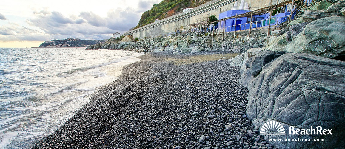Italy - Liguria -  Arenzano - Beach Azzurrodue