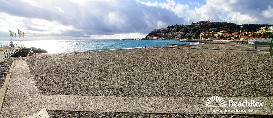 Italy - Liguria -  Arenzano - Beach Olanda
