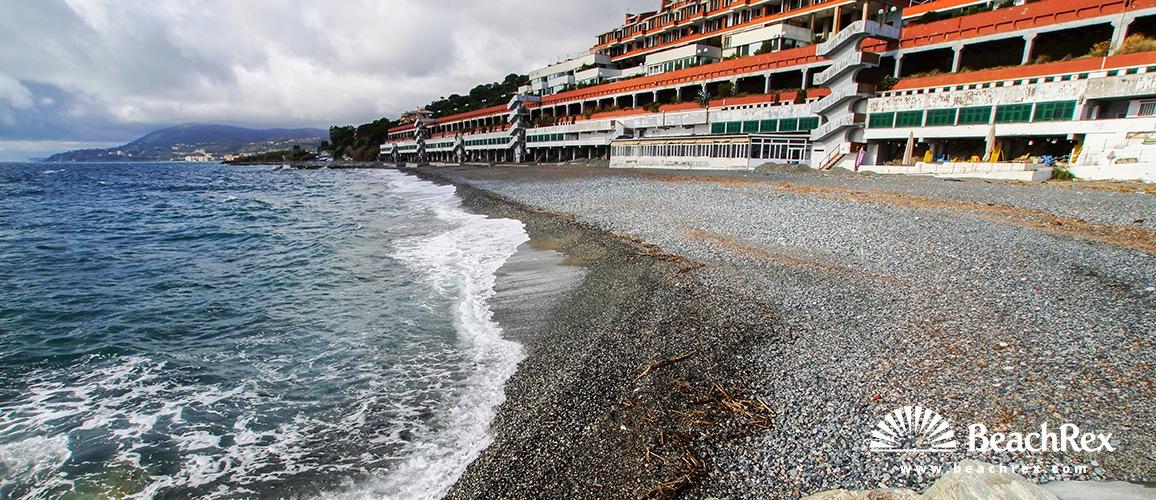 Italy - Liguria -  Arenzano - Beach Marina Grande