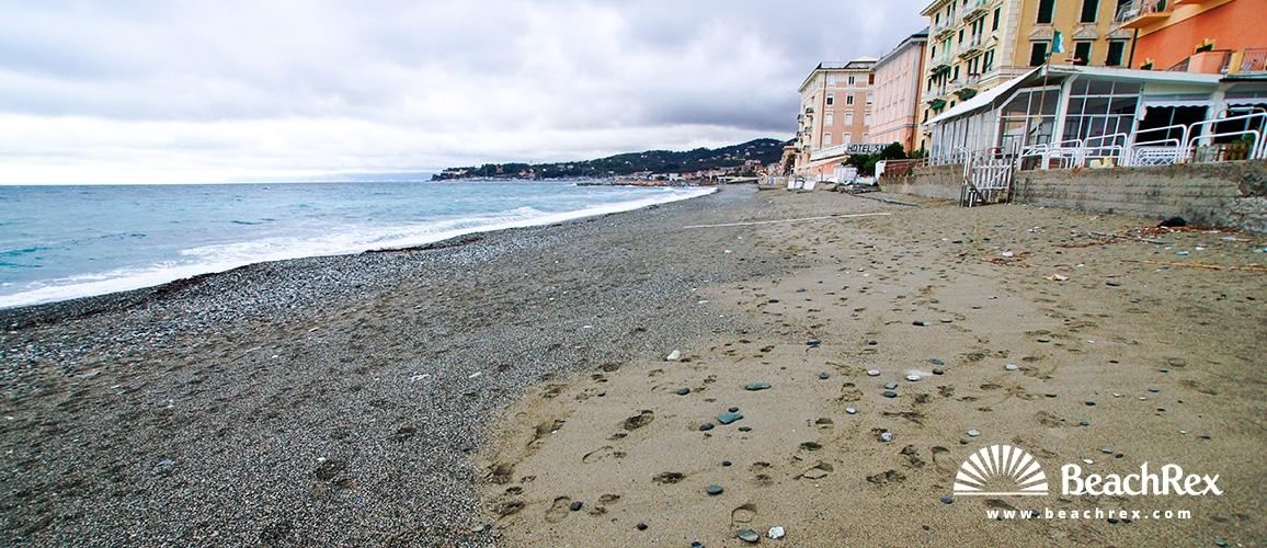 Italija - Liguria -  Varazze - Plaža Santa Caterina