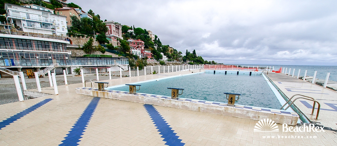 Strand Santa Caterina - Varazze - Liguria - Italien ...