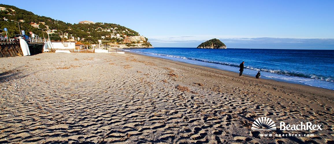 Italy - Liguria -  Spotorno - Beach Maremma
