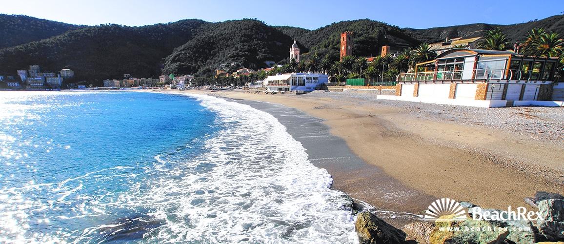 Italy - Liguria -  Noli - Beach Noli