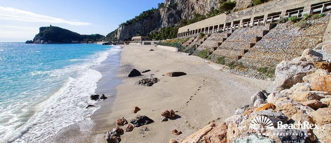 Italy - Liguria -  Varigotti - Beach Malpasso